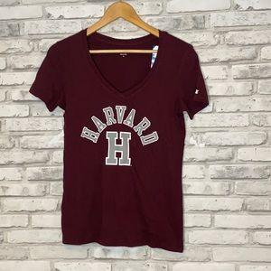 Women's Champion Maroon Harvard T Shirt